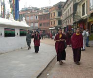 katmandu monks