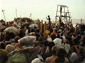 kumbha mela the world s most massive act of faith archaeology kumbha mela pilgrims